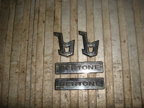 ASTRA COUPE BERTONE SIDE BADGE SET